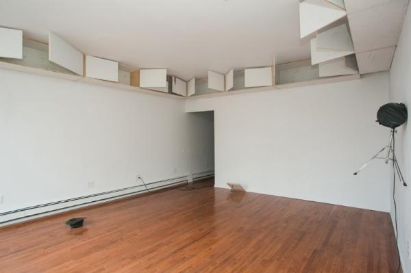 Installation view: Samuel Payne, final lap , Peninsula Art Space, Brooklyn, NY, 2014