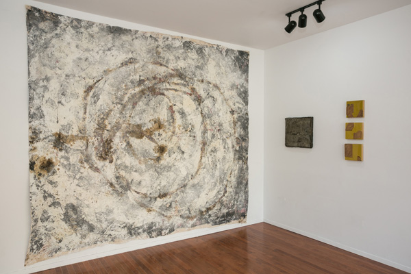 Installation view: Matter to Scale , Peninsula Art Space, Brooklyn, NY, 2014