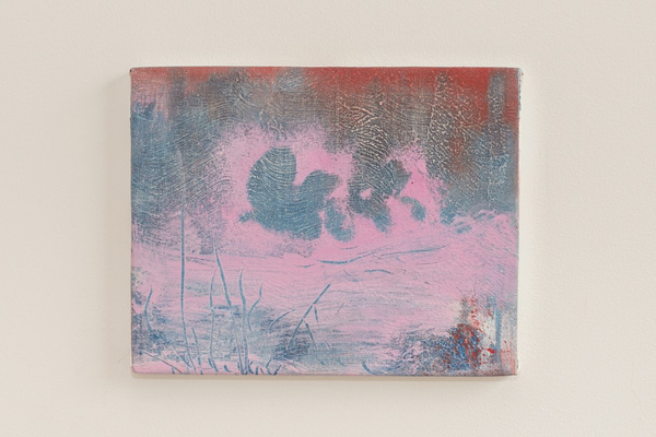 Brian Rattiner  Enchanted (Pink)  2013 Oil on canvas 8 x 10 inches