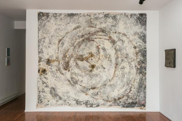 Laura Tack Untitled 2013 Mixed media on canvas 8 x 10 feet