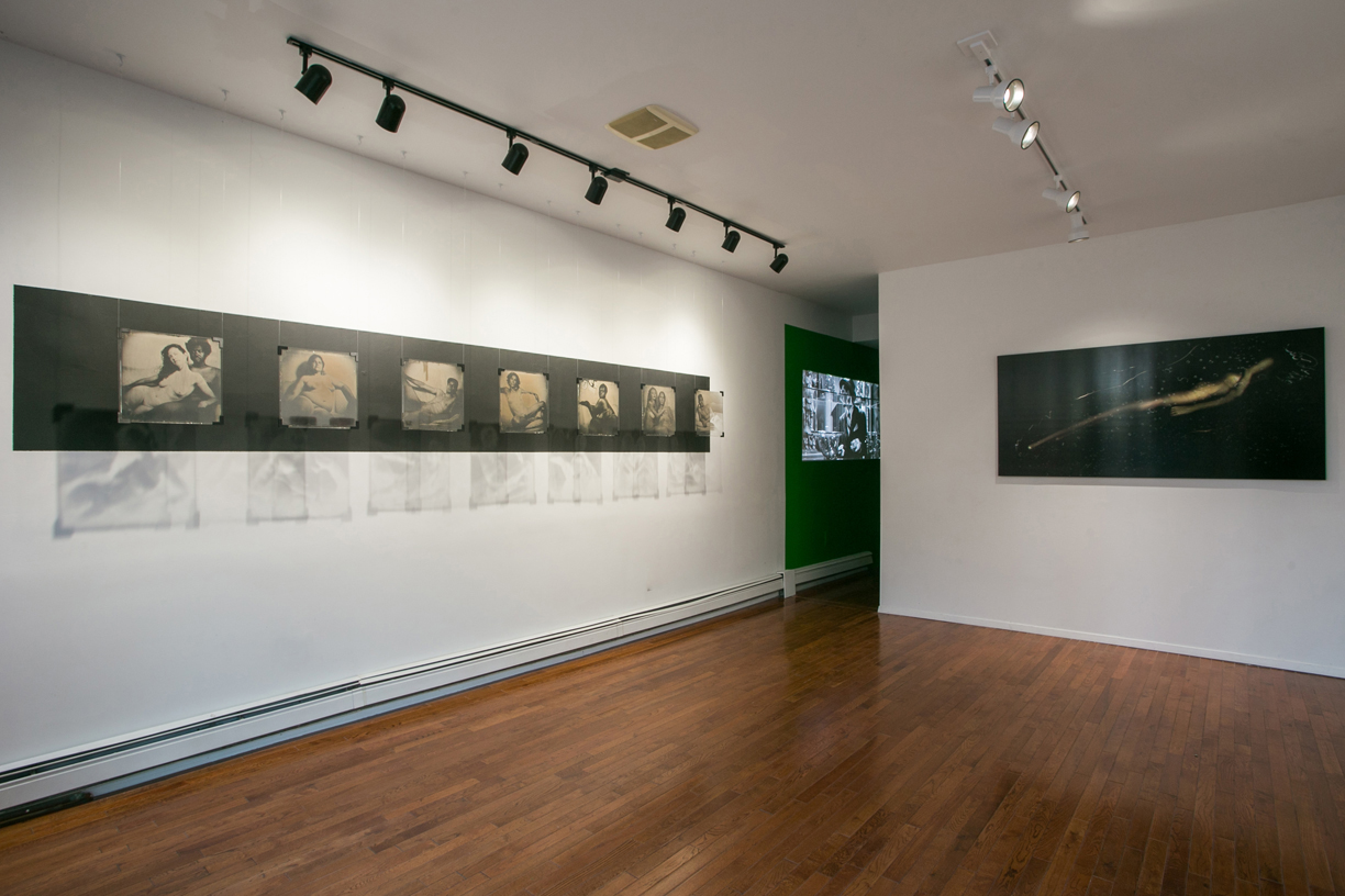 Installation view, Nothing Will Be Lost , curated by Marion Guiraud, 2014-2015