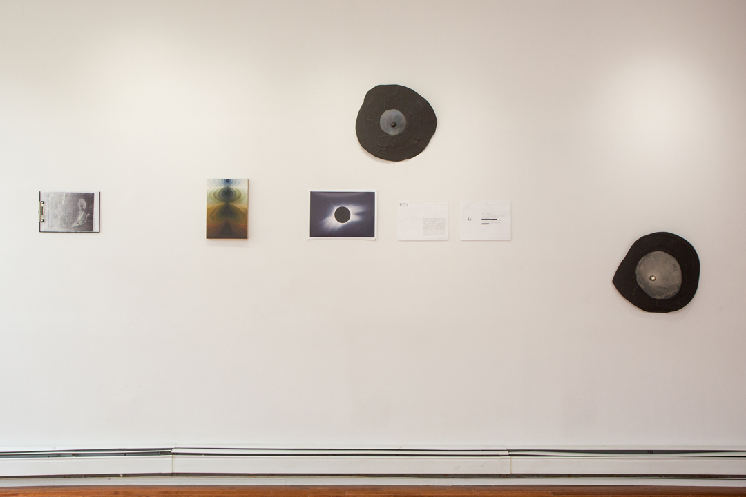 Installation view, I   Swallowed a Moon Made of Iron; for, ipromise to burn brightly ,  curated by Alan Longino, 2015