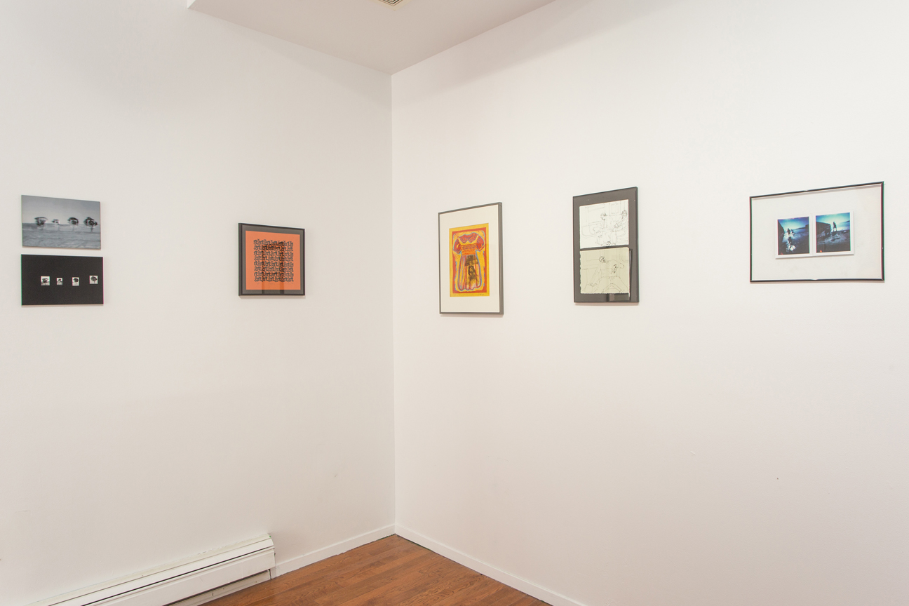 Installation view,  The Kentler Flat Files: Red Hook Artists - the 90s , curated by Florence Neal, 2015