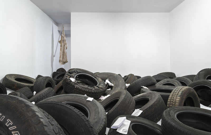 Installation view: Graham Wilson,  Tired of Bal(d)ing Out , 2015