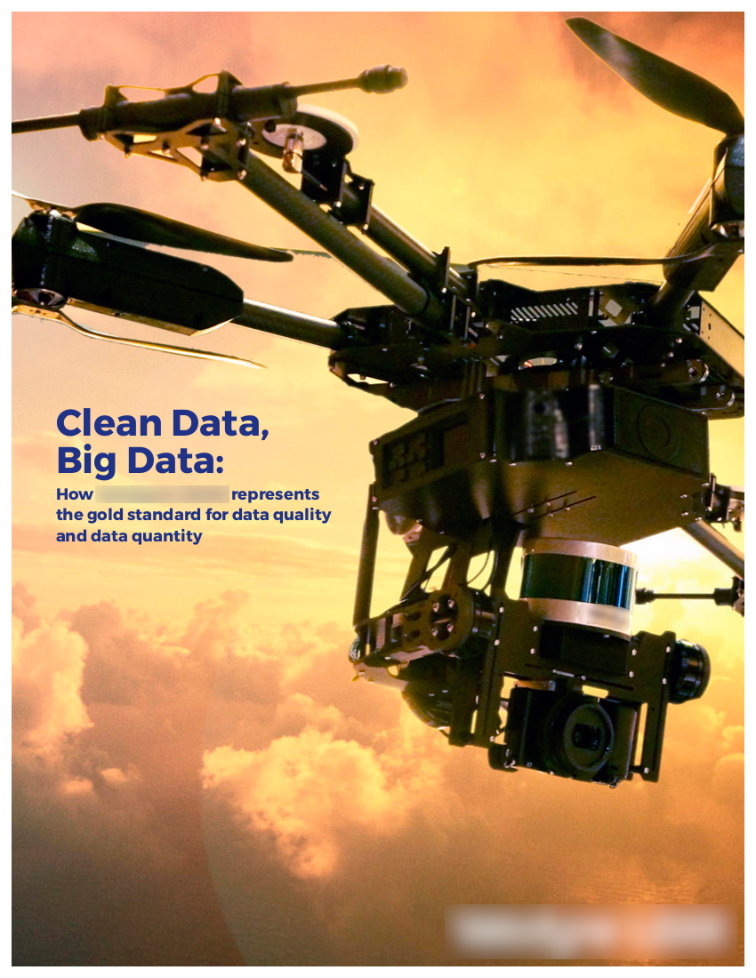 • client:  prominent OEM for UAVs, autonomous cars, mapping, geospatial data •  objective:  outreach to industry thought-leaders and government regulators  • subjects:  LiDAR, unmanned aerial vehicles (UAVs), autonomous cars, robotics, mapping technologies