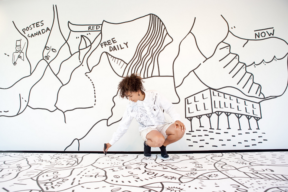 Shantell Martin, Bata Shoe Museum