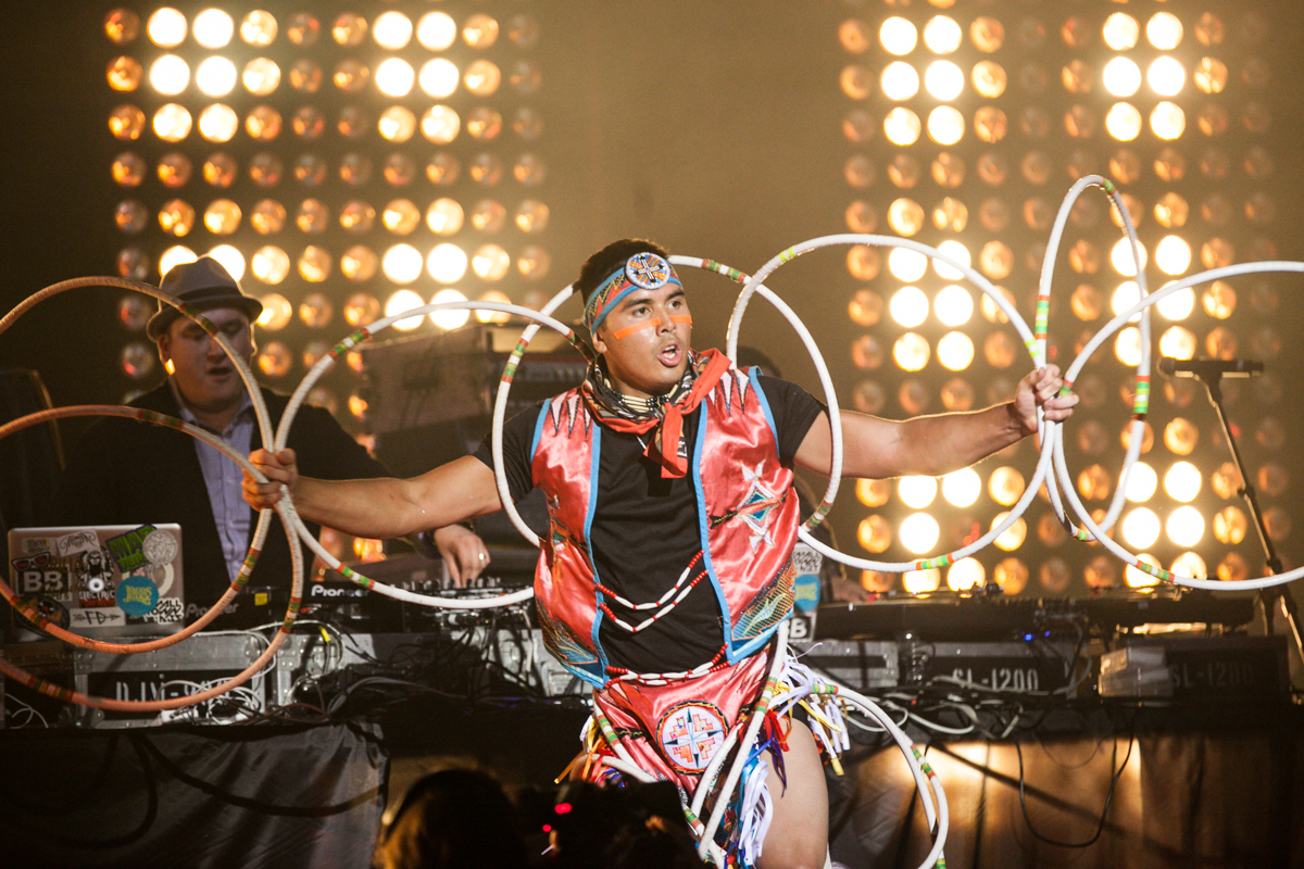 A Tribe Called Red (Photo: Connie Tsang)