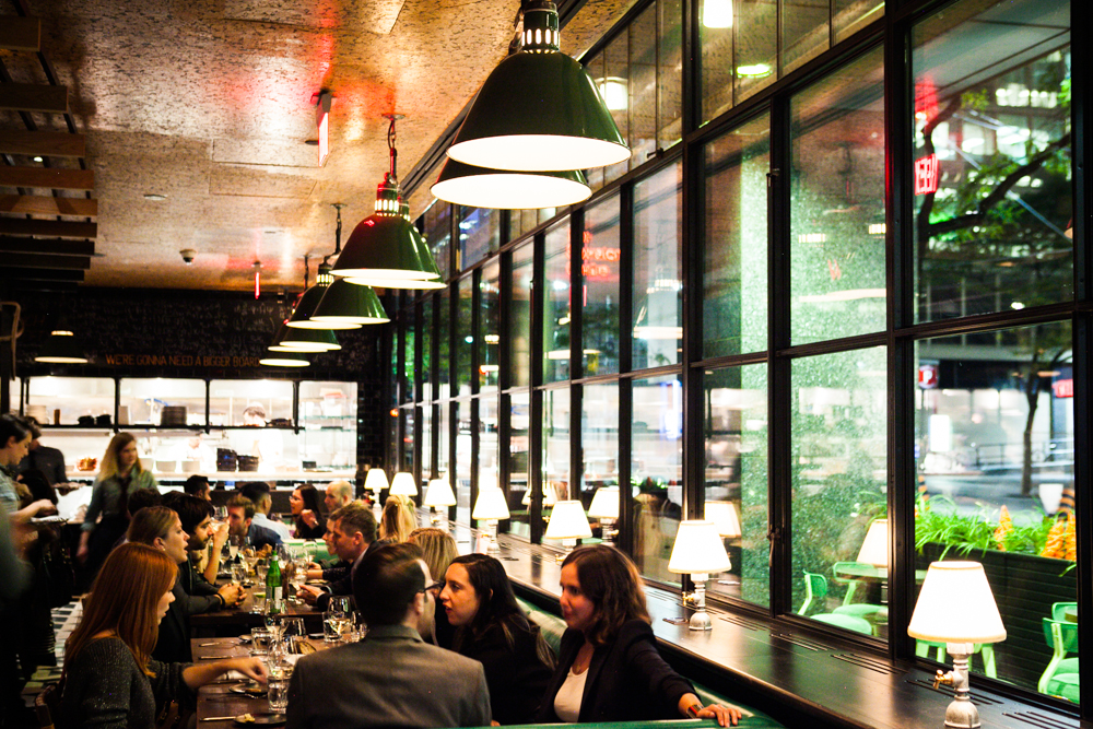 Dining at Drake One Fifty (Photo: Connie Tsang)