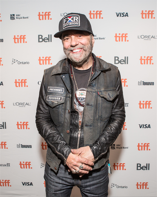 Daniel Lanois, Green Room at TIFF Bell Lightbox (Photo: Connie Tsang)