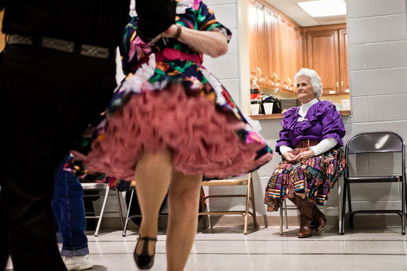 Square-dancers in Nashville, Tennessee. (Photo: Connie Tsang)