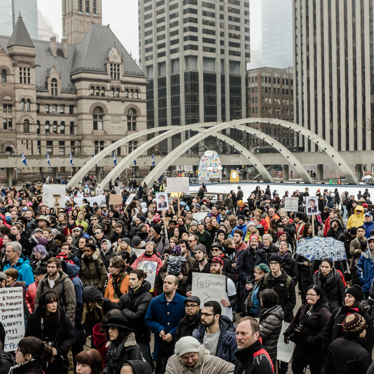 Nathan Phillips Square, Toronto. (Photo: Connie Tsang)