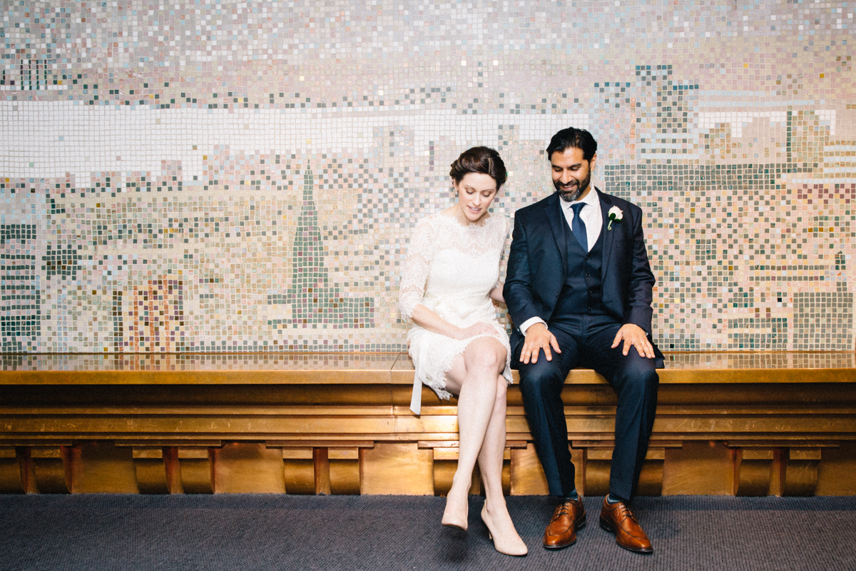 Toronto City Hall, post-wedding (Photo: Connie Tsang)