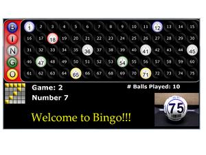 Bingo Flashboard