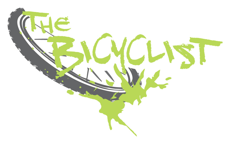 The Bicyclist  web series logo. Young, edgy, fun and even a little dangerous. The logo is a manifestation of what it felt like to be part of the alternative bike culture in Portland during the first decade of the 21st century.