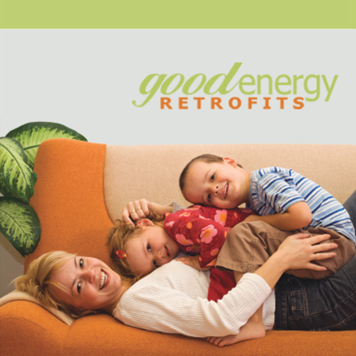 PROJECT: 3-fold Brochure  ROLE: Freelance Graphic Designer  CHALLENGE: Create a brochure as essential marketing material for selling the eco-friendly retrofit services of Good Energy Retrofits.