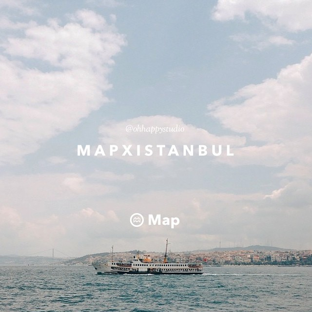 """Istanbul means the sea to me. It is filled with so many beautiful corners to sit and enjoy views of the water but my favourite is the opposite—to be on a ferry and watch the view of this beautiful city."" -    @ohhappystudio      #finditliveit   #mapxistanbul   #exploress"