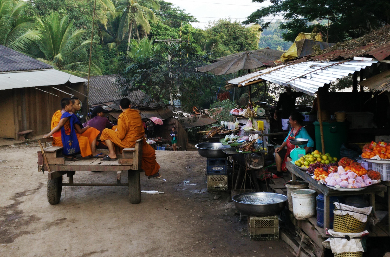 Laos Monks - The Exploress