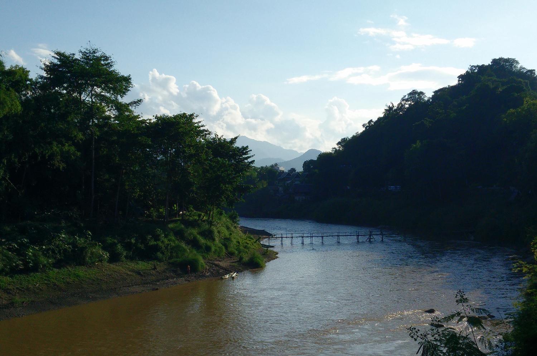 Laos Bamboo Bridge - The Exploress