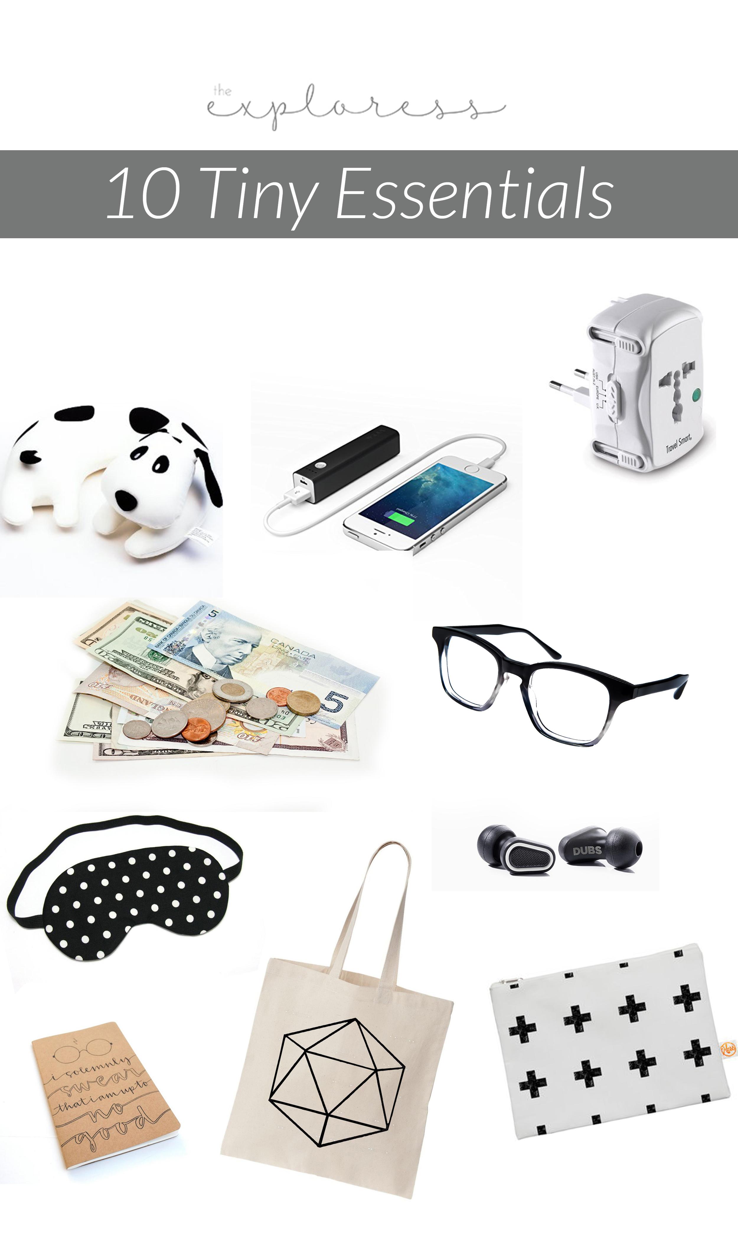 The Exploress - 10 Tiny Essentials