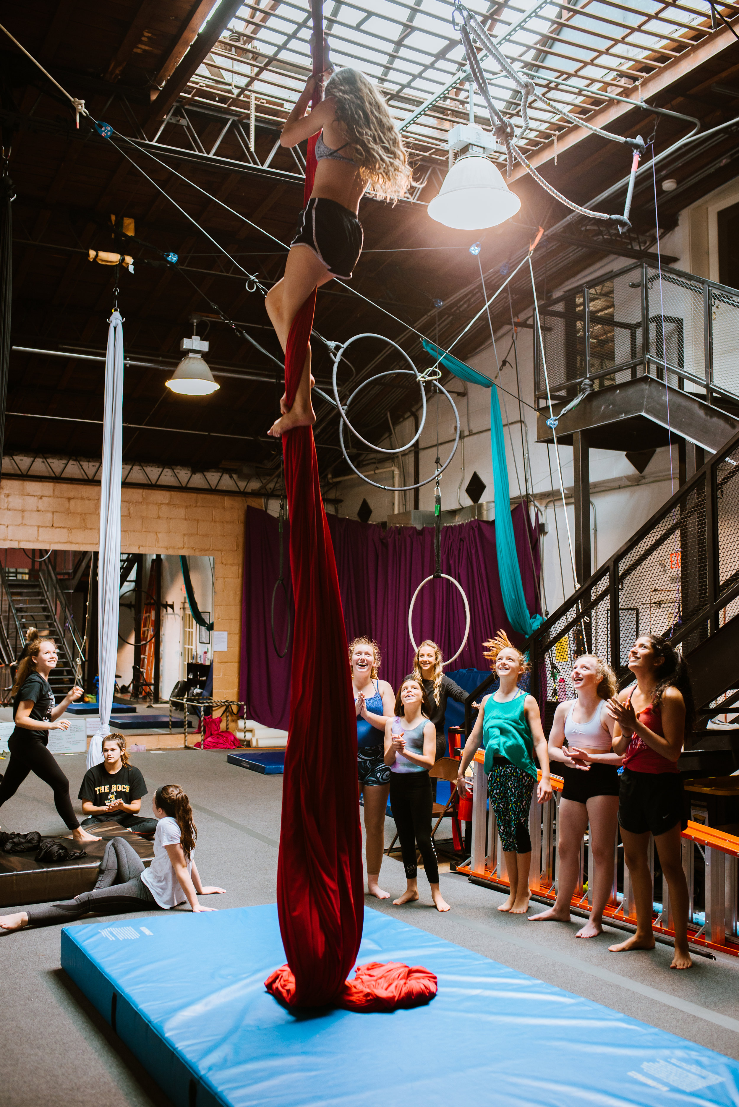 Youth Aerial Silks