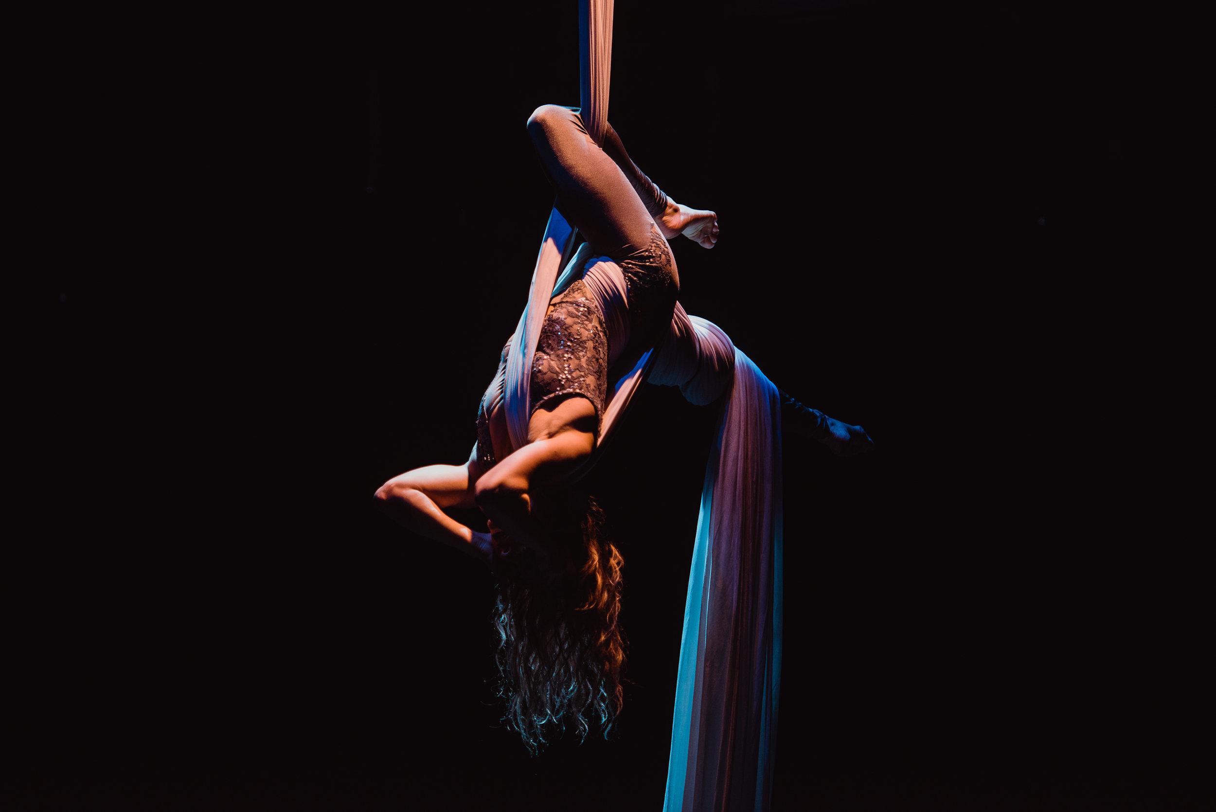 Jessica Aerial Silks