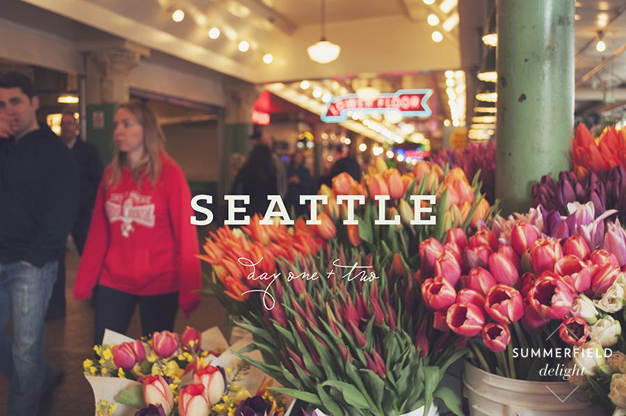 Summerfield Delight   Seattle Part 1