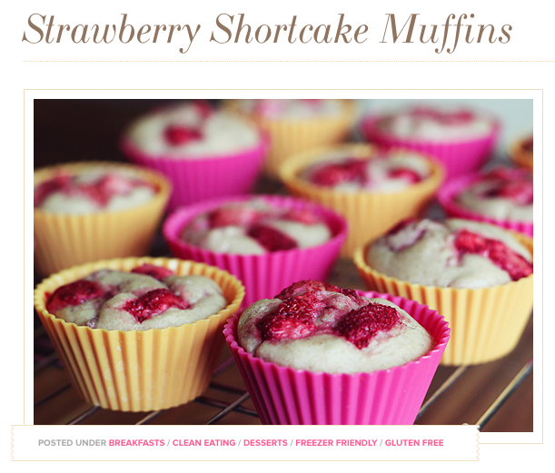 Dashing Dish | Strawberry Shortcake Muffins