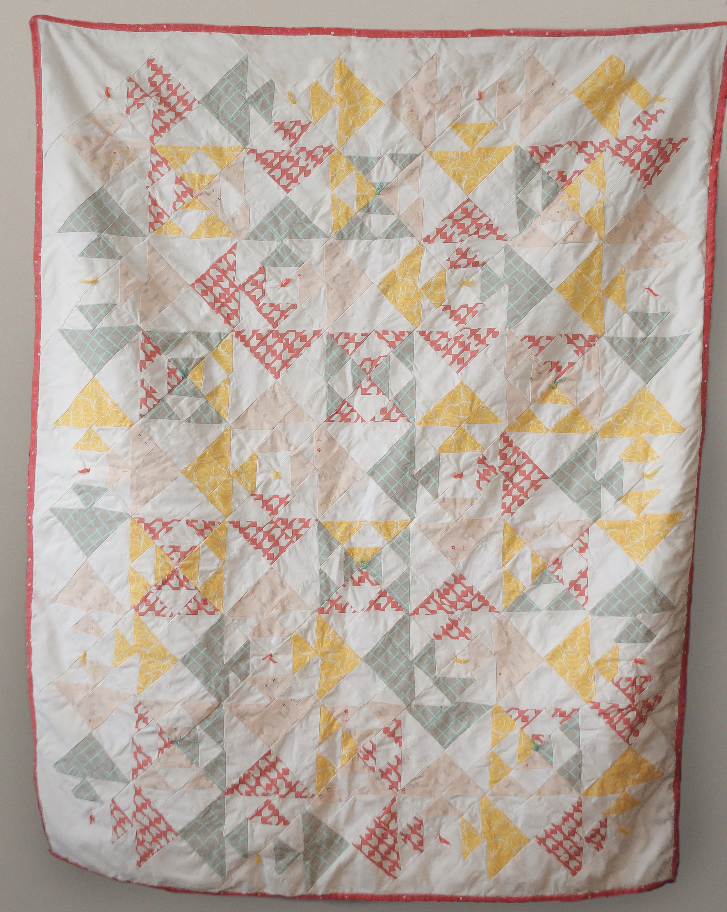 Kissing Fish Baby Quilt
