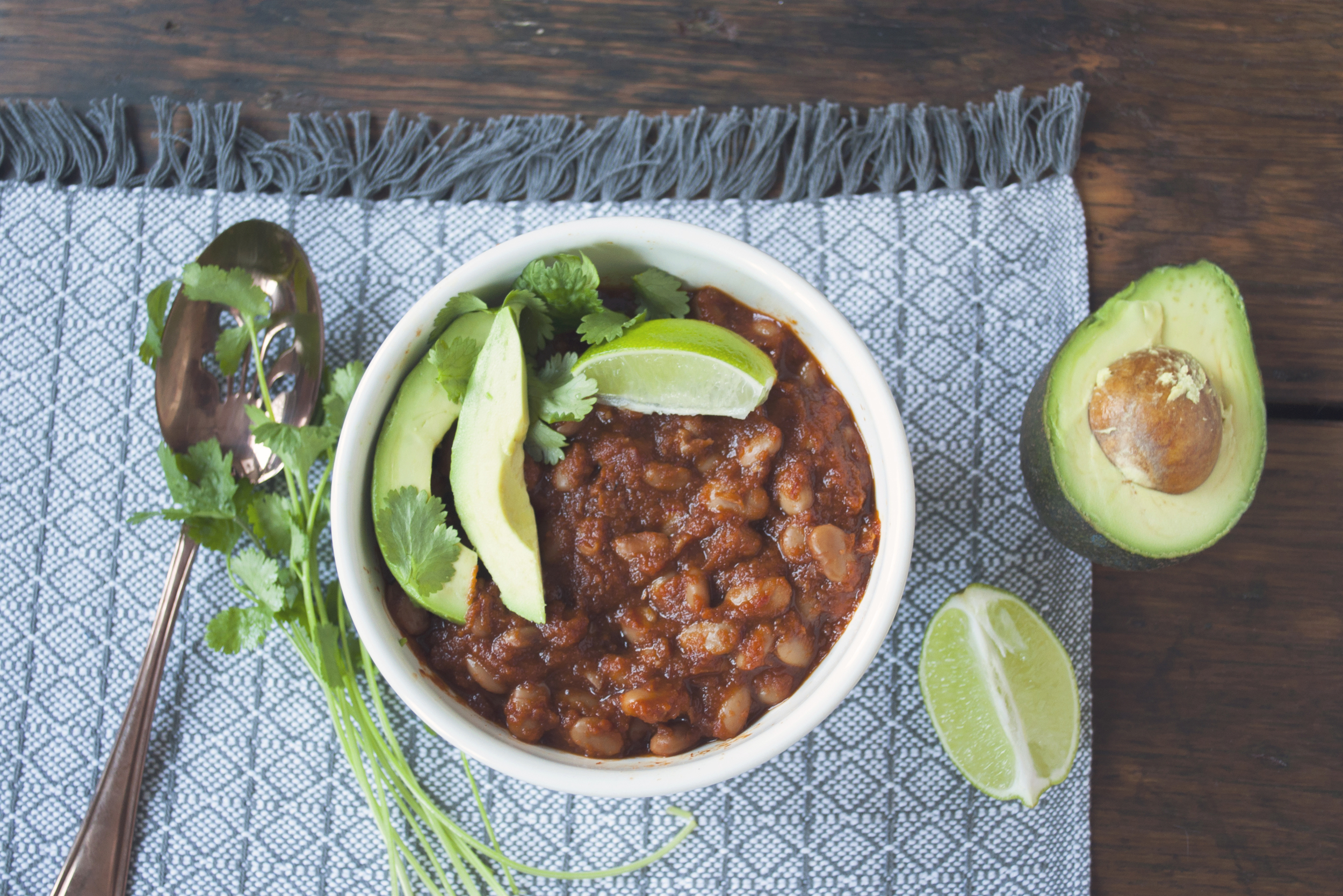 The Ultimate Vegetarian Taco Bowl Series | Chipotle BBQ Pinto Beans
