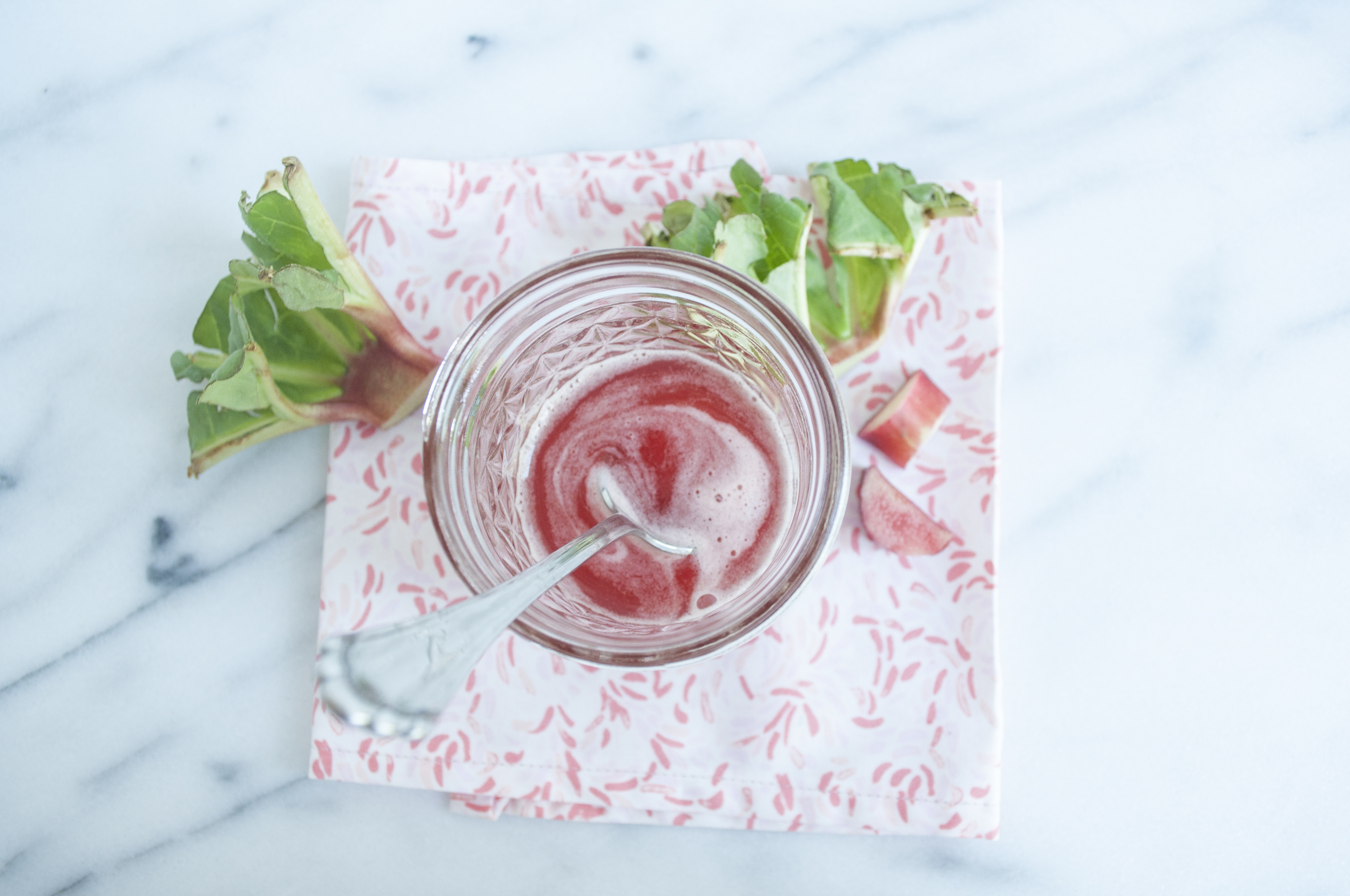 Summerfield Delight | Rhubarb Simple Syrup