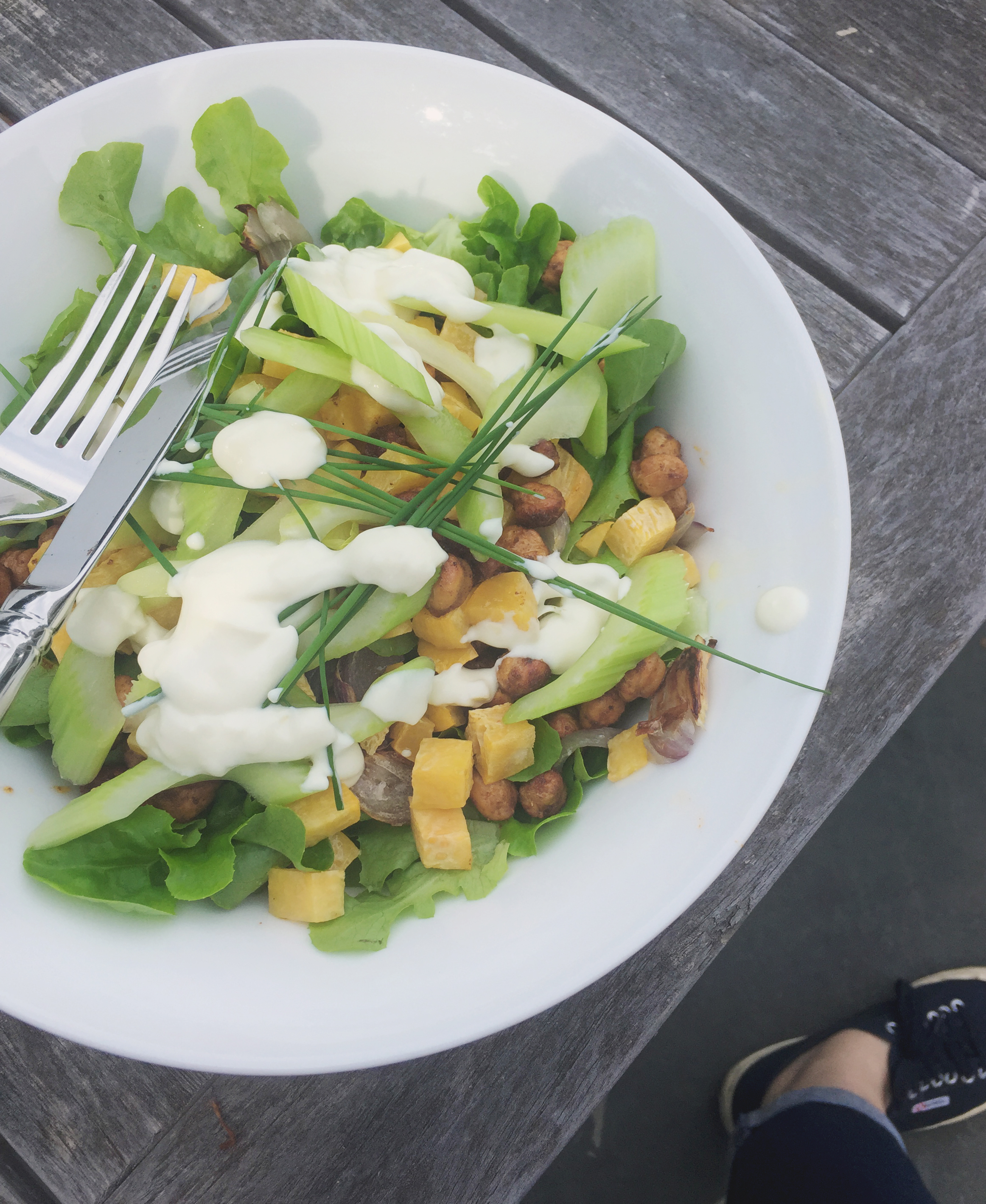 Summerfield Delight | Market Salad with Roasted Chickpeas