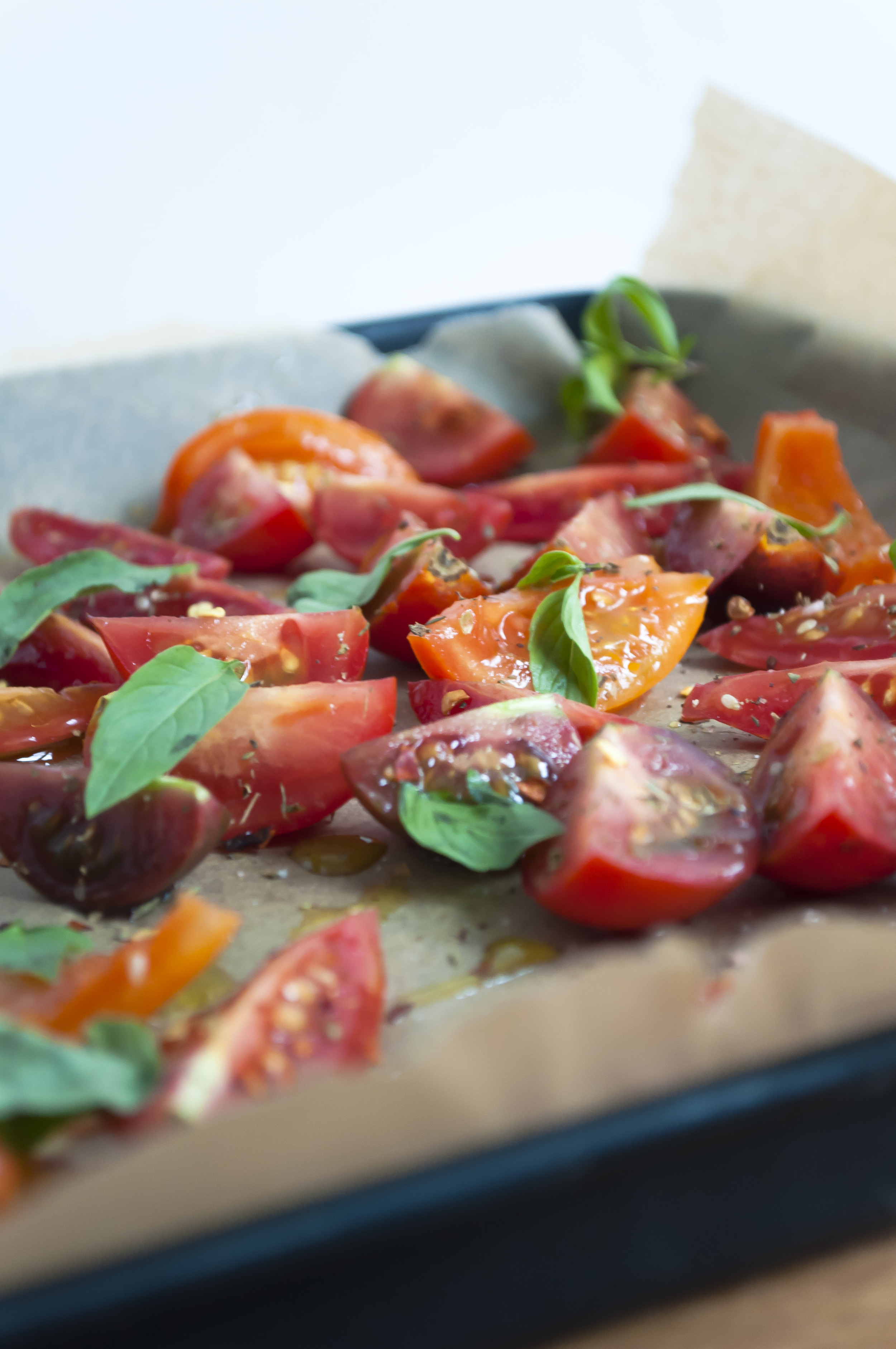 Slow Roasted Heirloom Cherry Tomatoes
