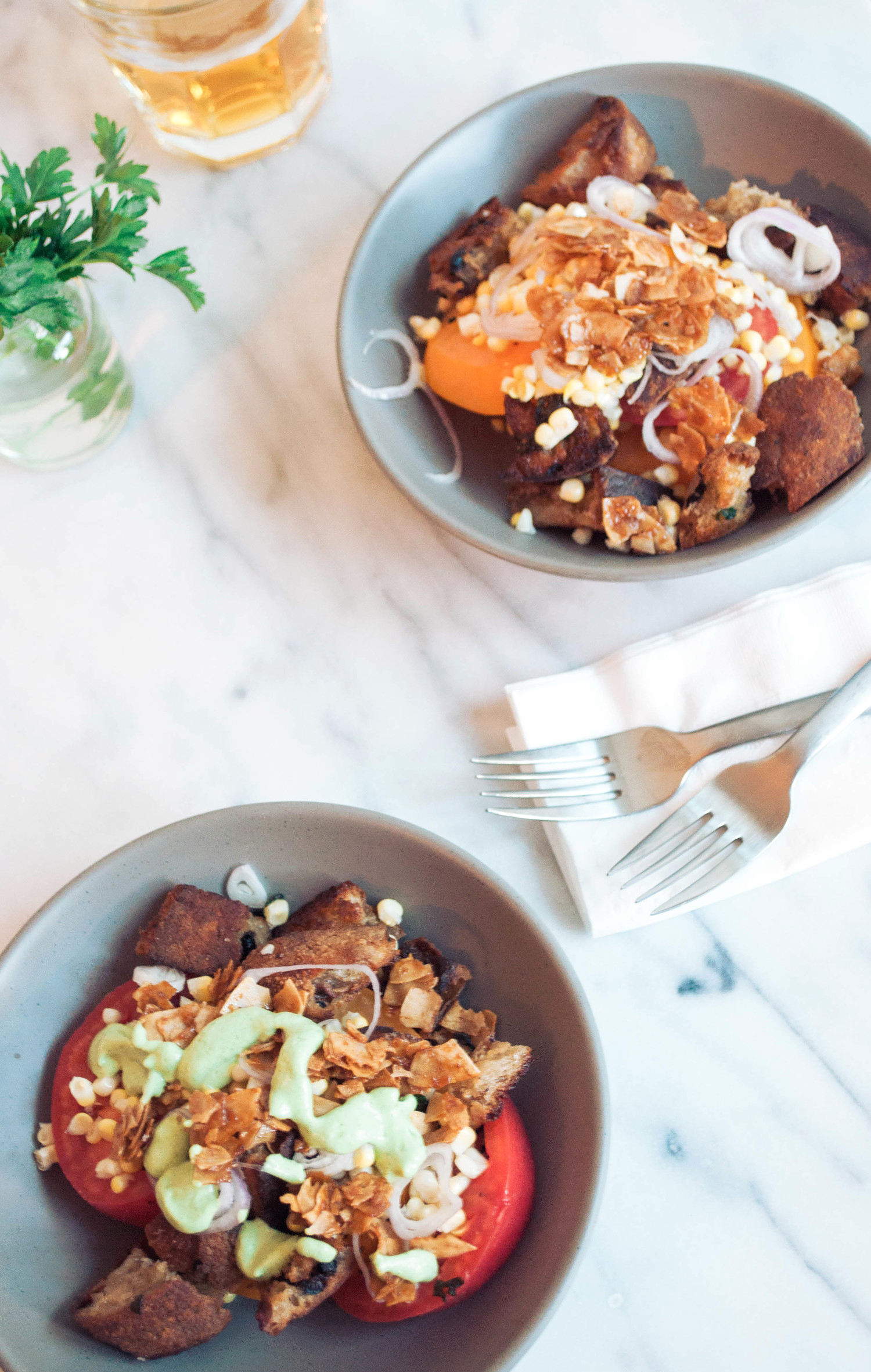 The Ultimate End of Summer Panzanella