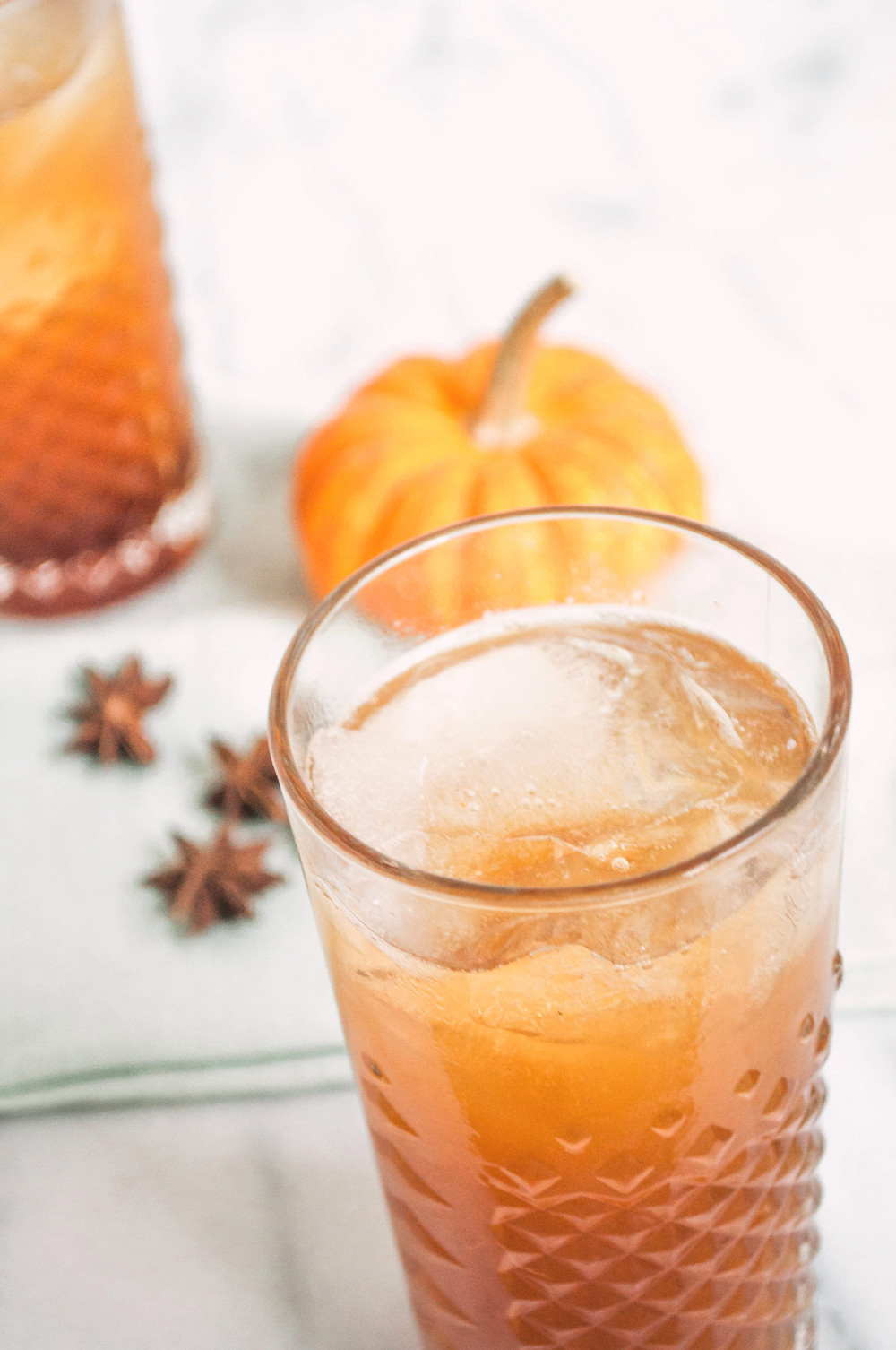 Fall Maple Apple Cider and Spice Cocktail