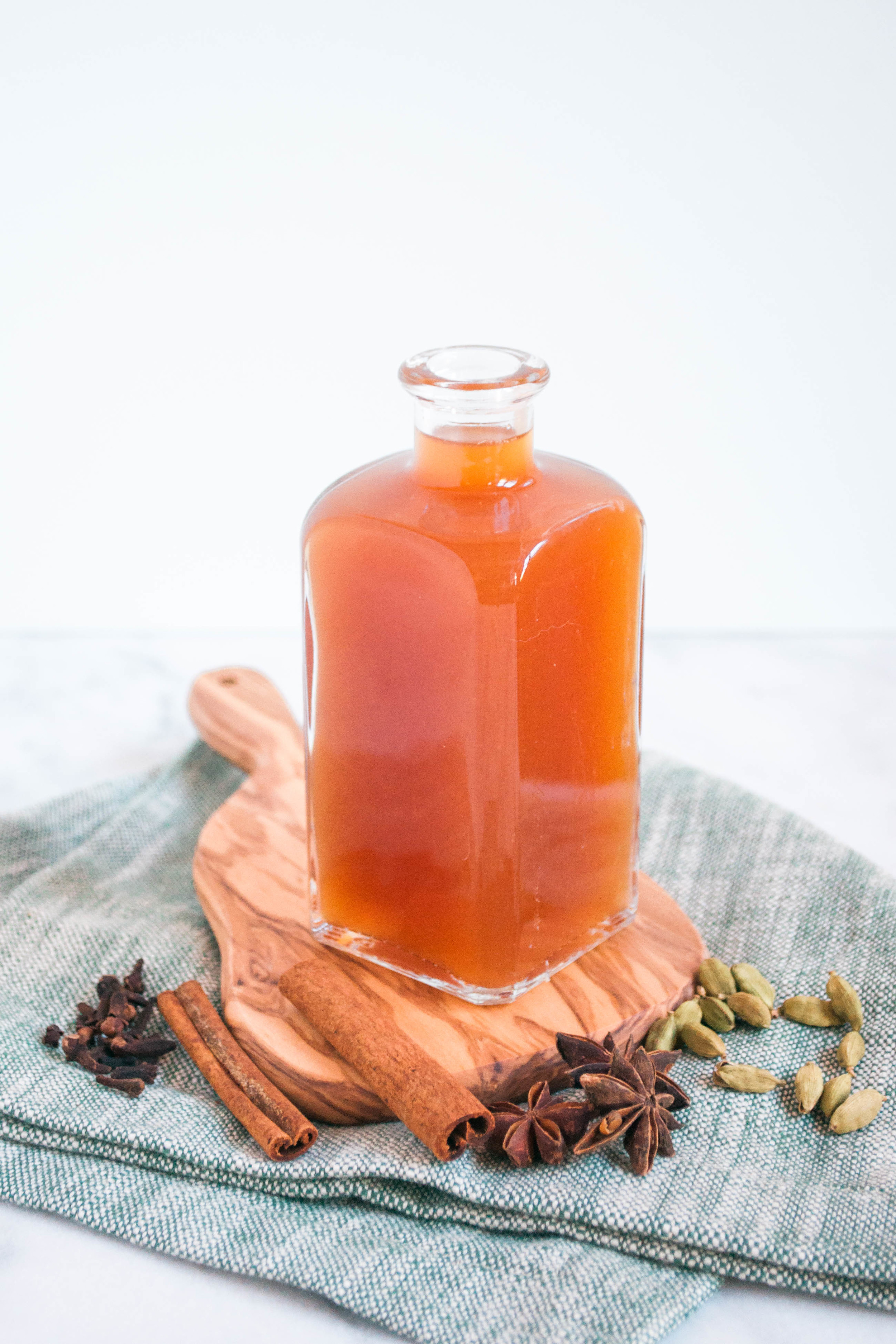 Spiced Cider Syrup