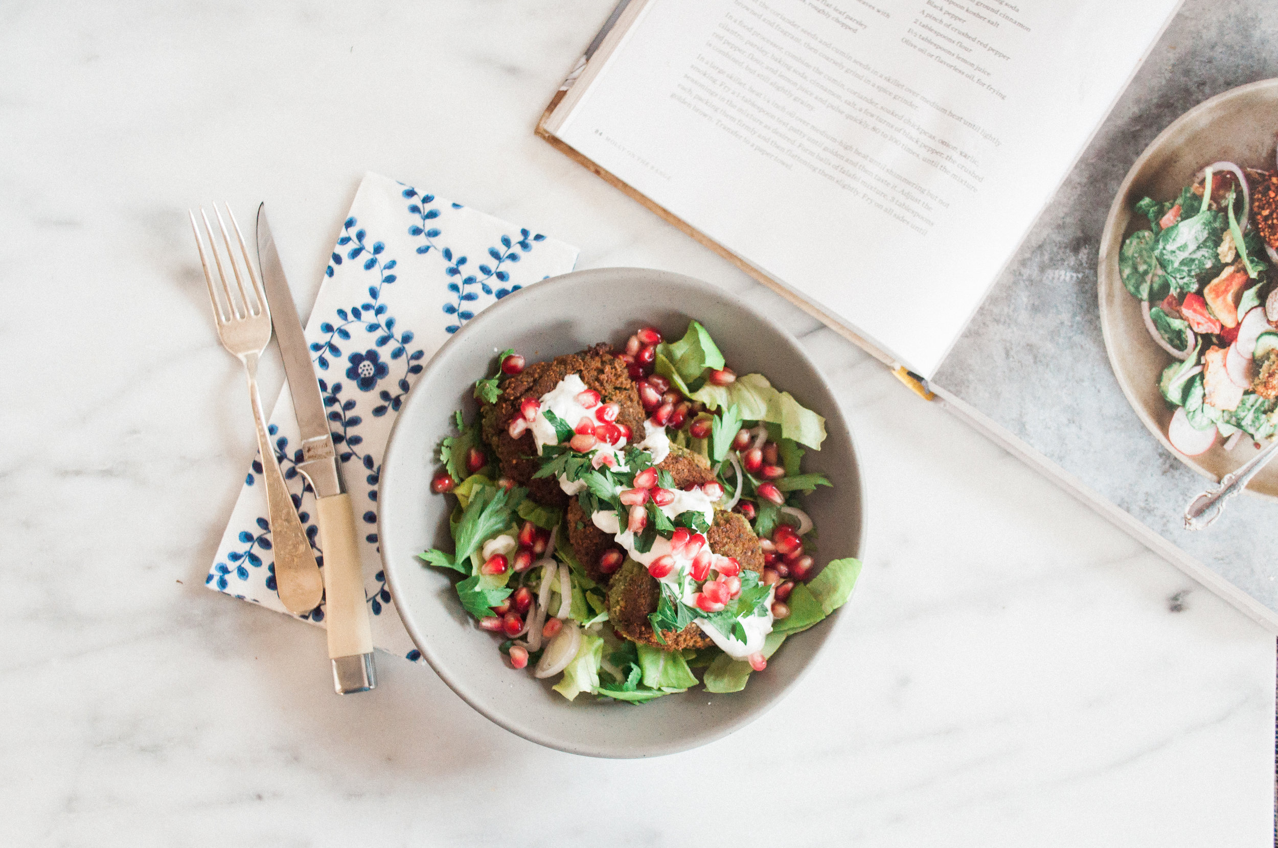 Molly Yeh Falafel Recipe | Molly on the Range Cookbook Review