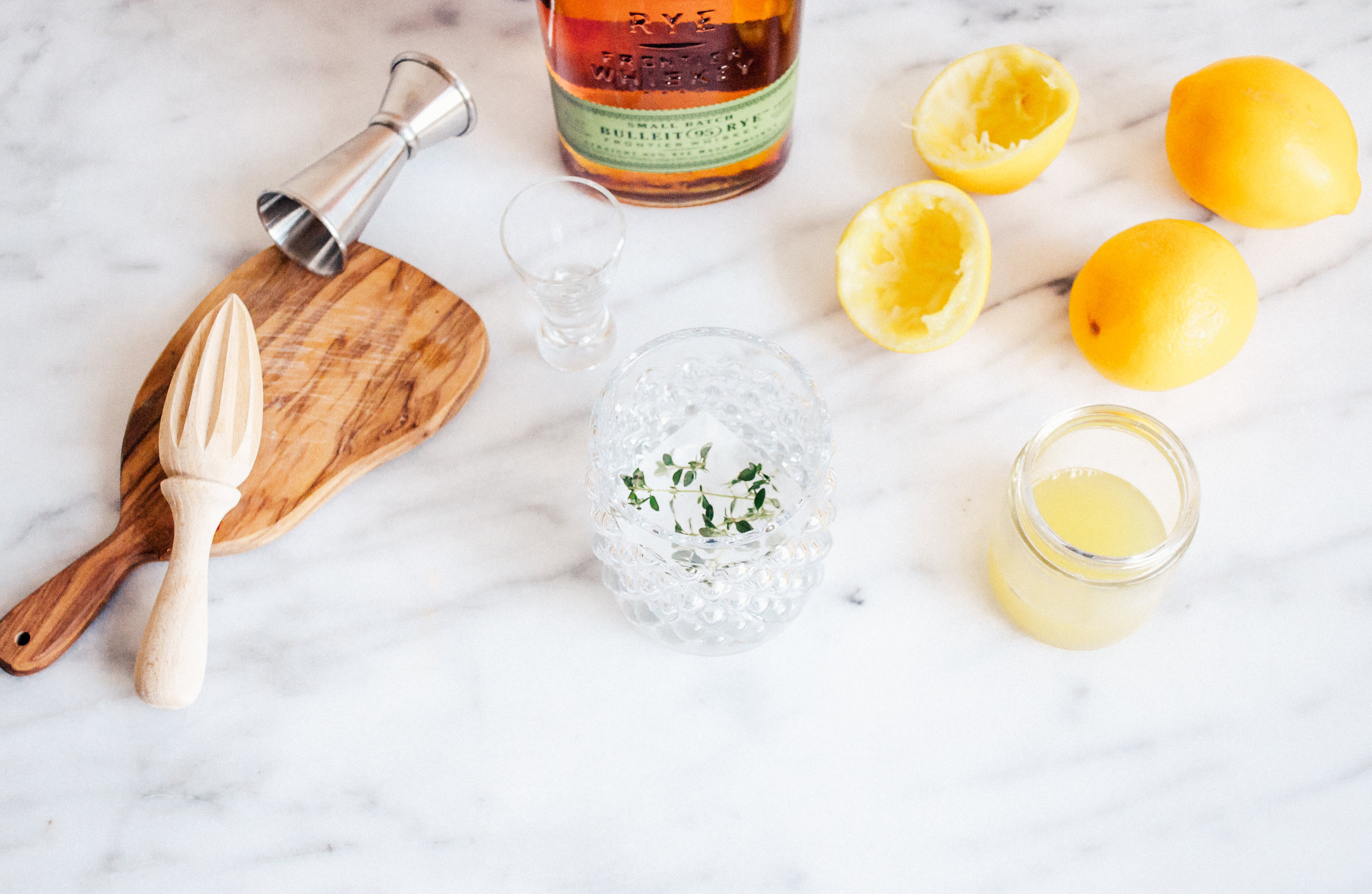 Summerfield Delight | Meyer Lemon Rye Whiskey Sour