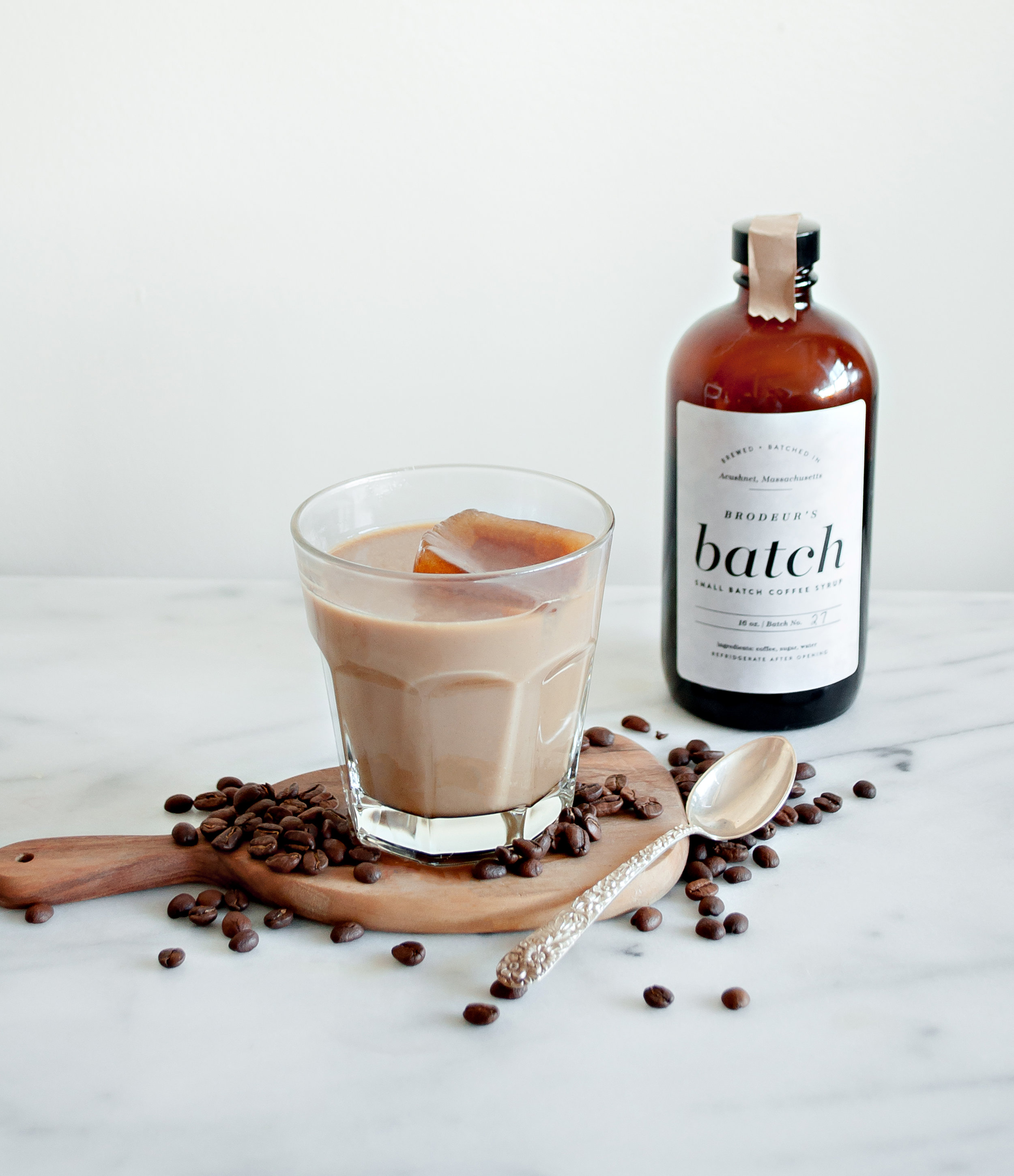 Brodeur's Batch Coffee Syrup and Bourbon Cocktail