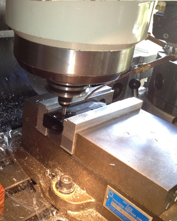8045 magazine modification on SierraPapa's CNC mill.