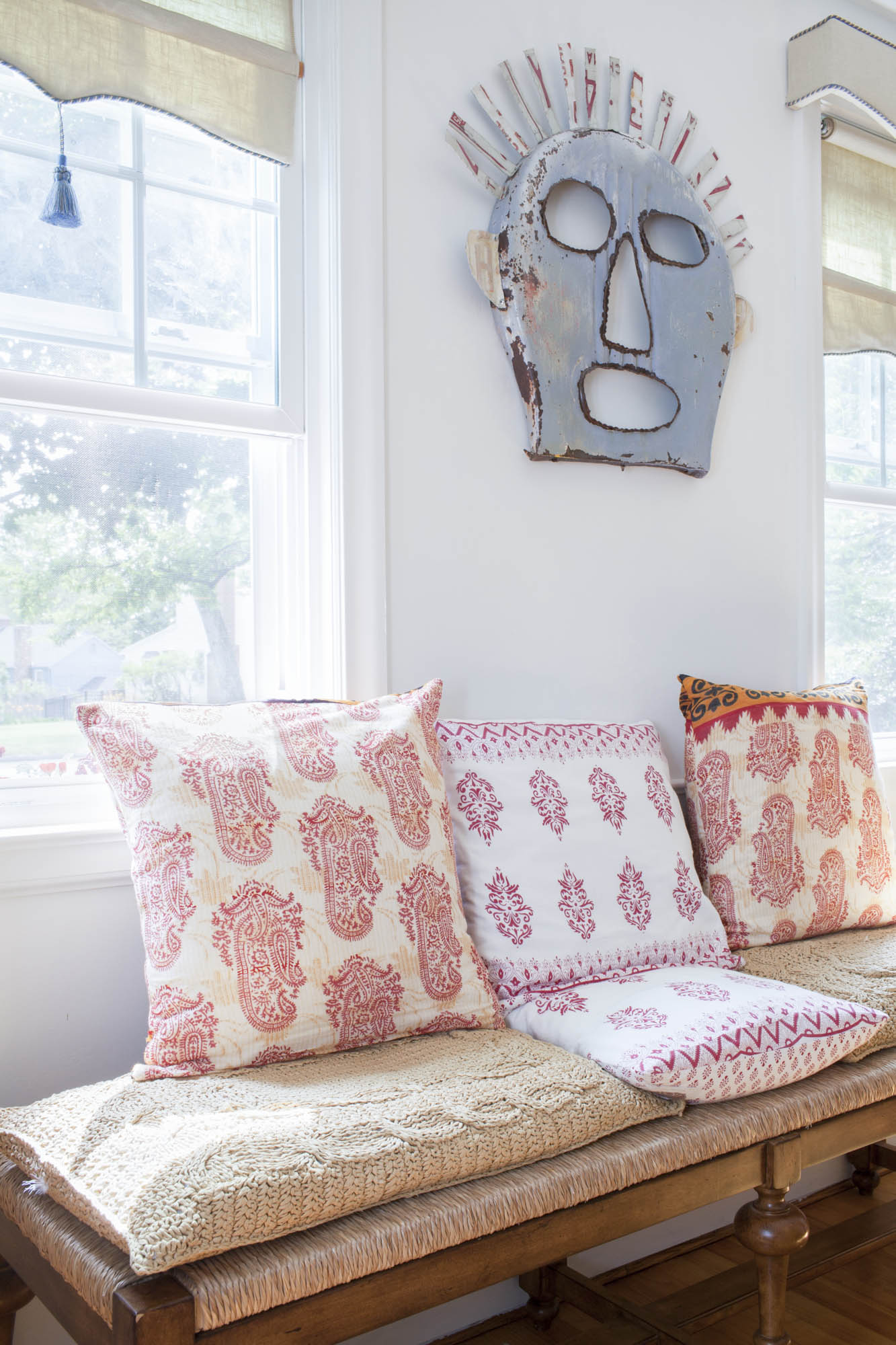 Liz Calvi, Photographer, Cottages & Garden, Interior, Home & Garden, Pillows, Artisan, Fine Art, Editorial Photography, Advertising Photography, London Photographer, Nest Studios, Erica Moses