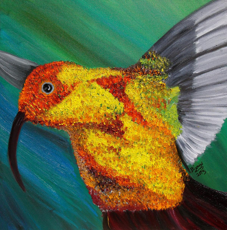 Inspired by Hummingbird