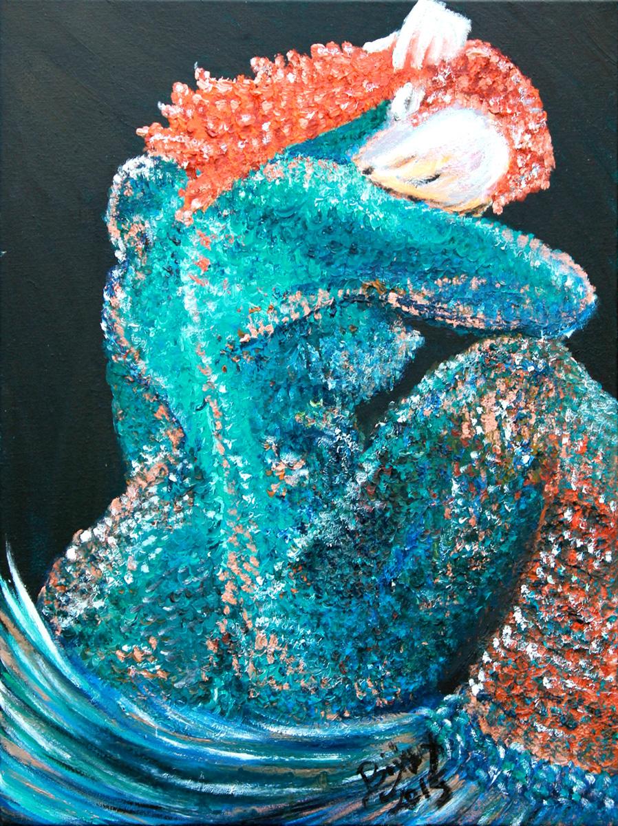 Dreaming of Mermaid - SOLD