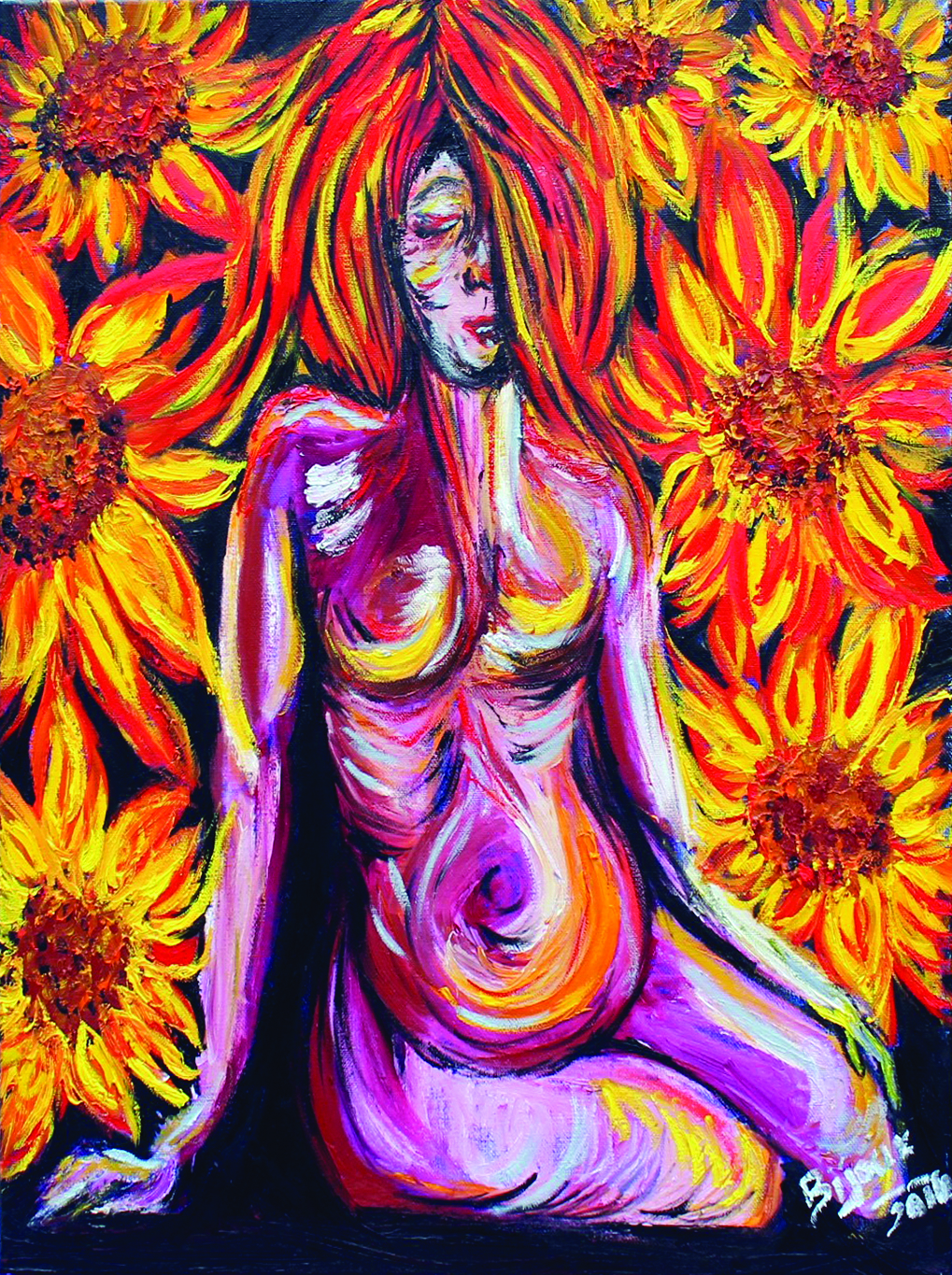 "Mother - $625 24"" x 20"" oil on canvas"
