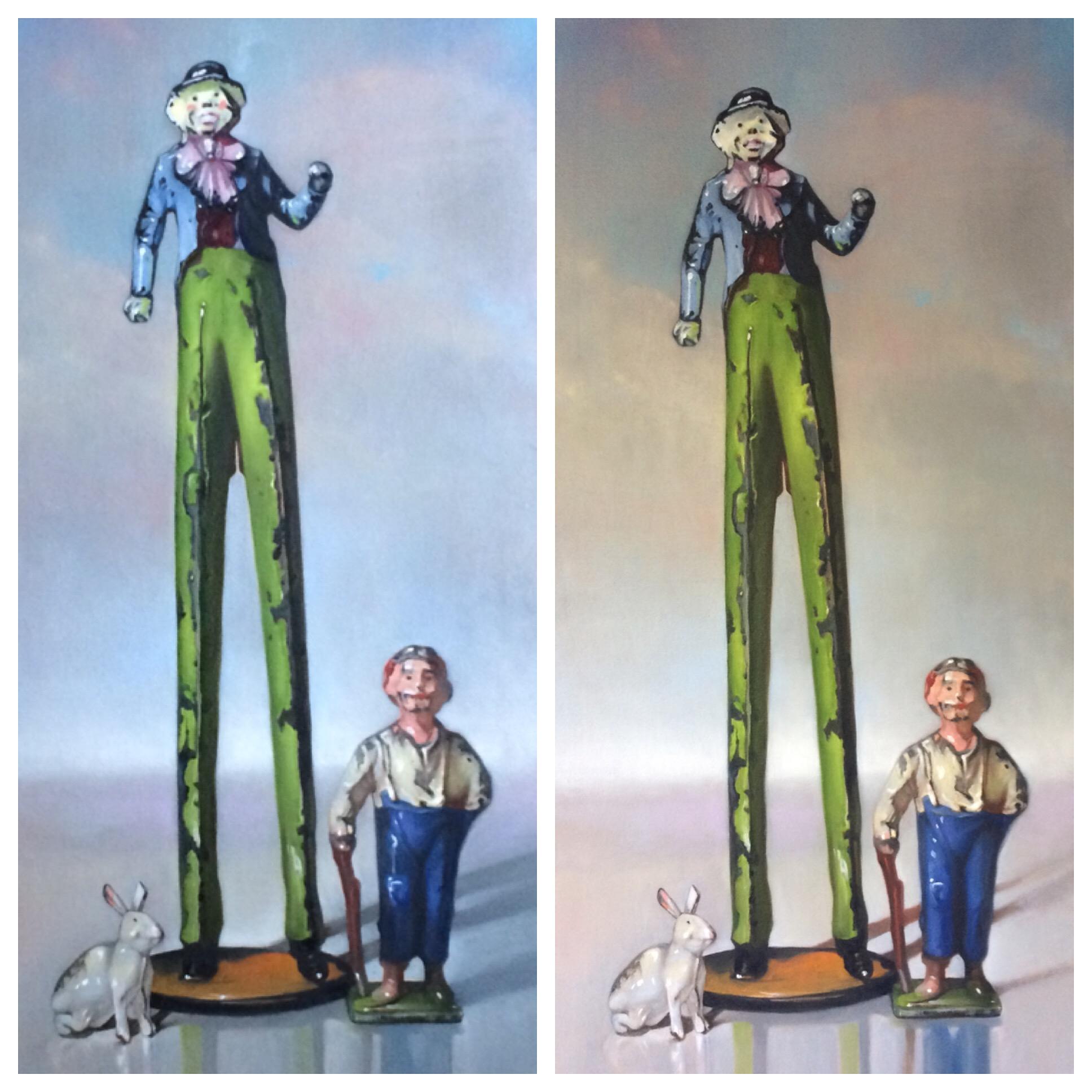 Tall Man, Short Man, Rabbit