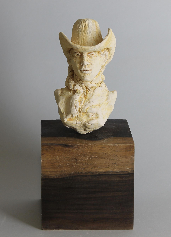 Ceramic Cowgirl I