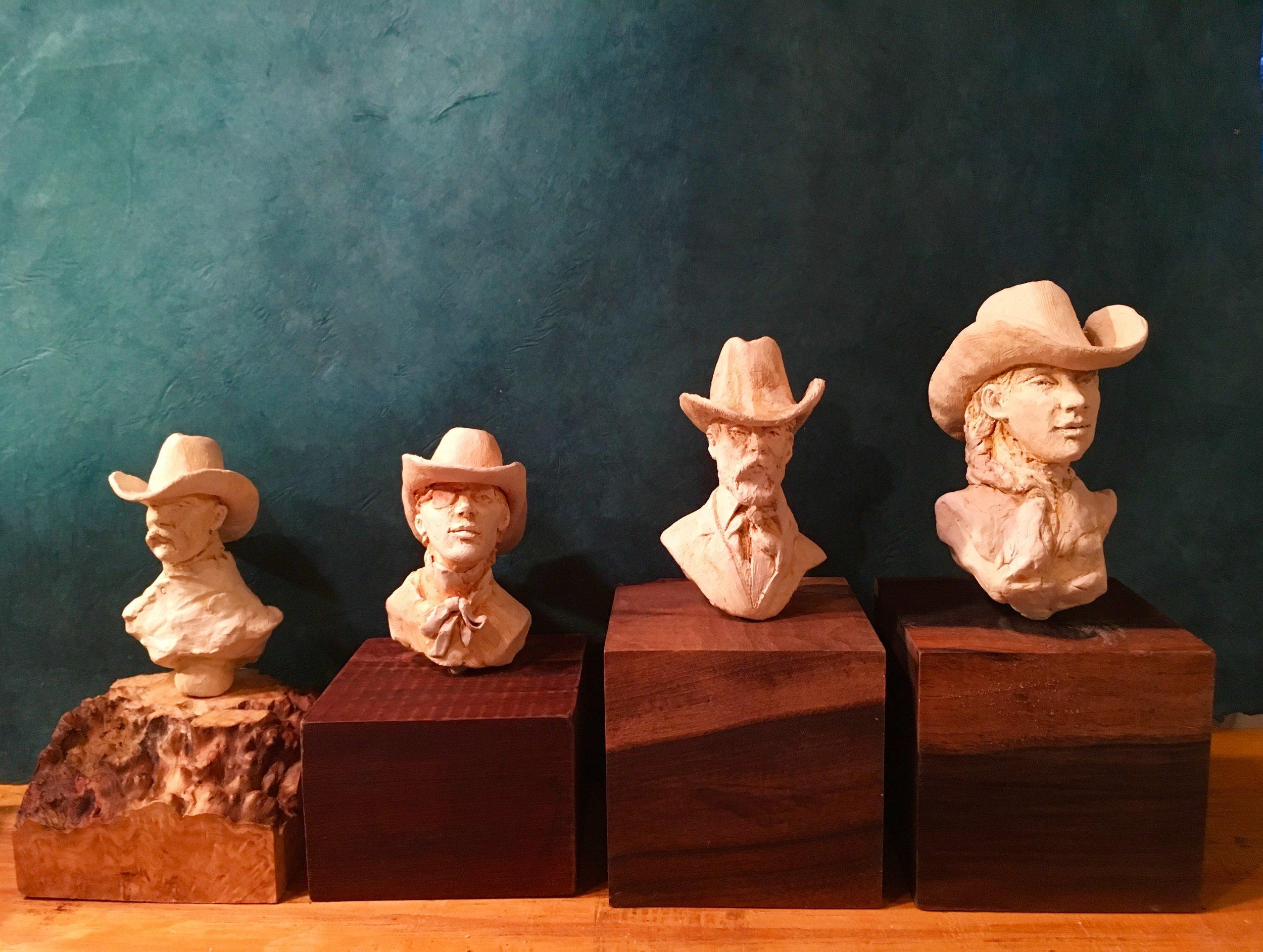 Ceramic Cowboys and Girls