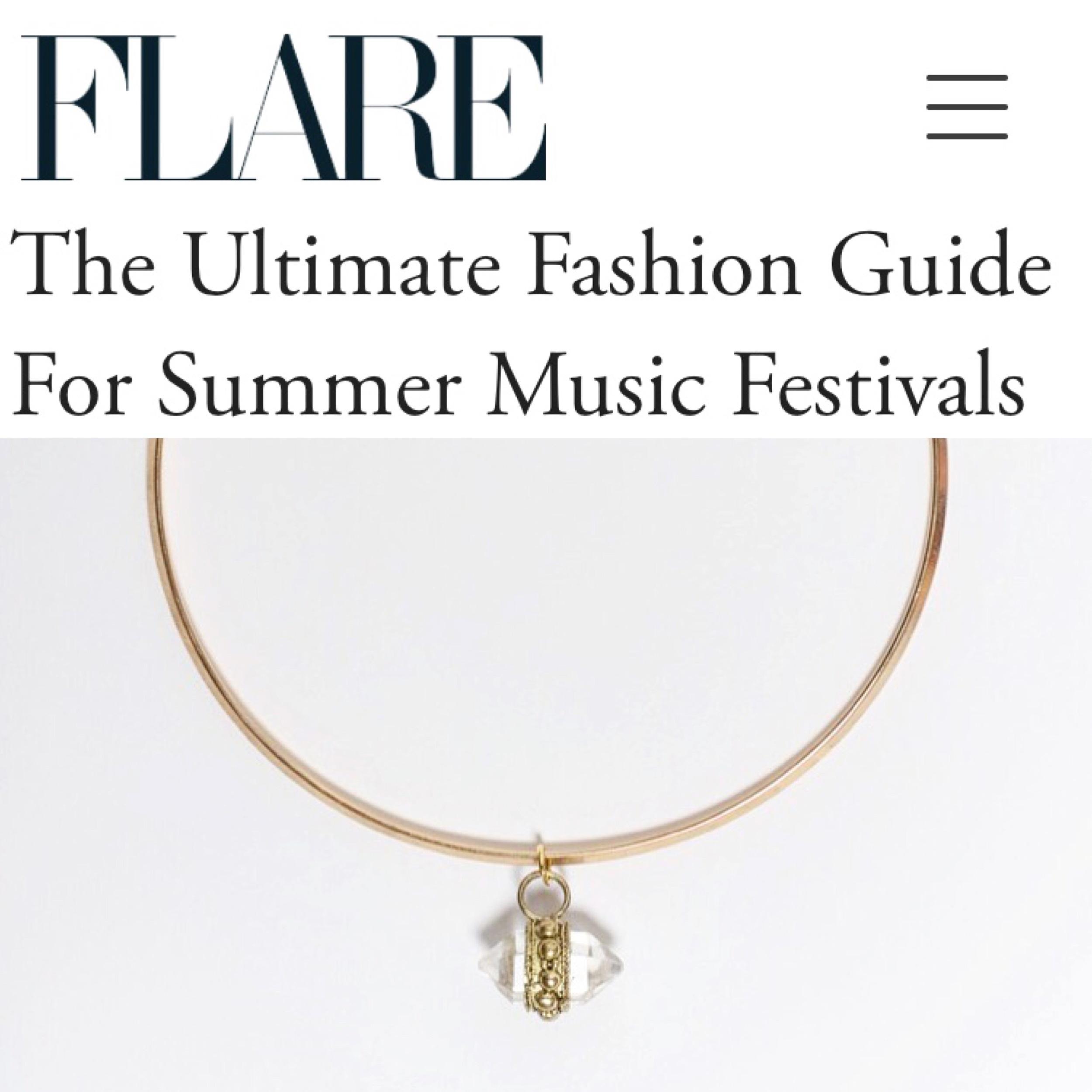 Dolorous Jewelry Crystal Choker Flare Magazine.JPG