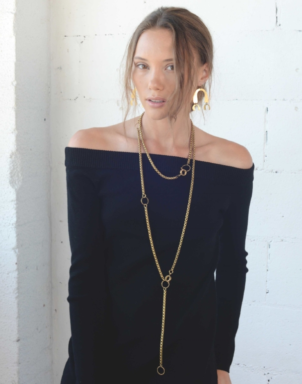The Ryder can play double duty and be worn as a Lariat or even as a Chain Belt, one of the season's hottest new trends! Shop it  HERE