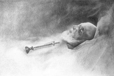 Louis Martin in death.  Chateau La Musse, July 29, 1894