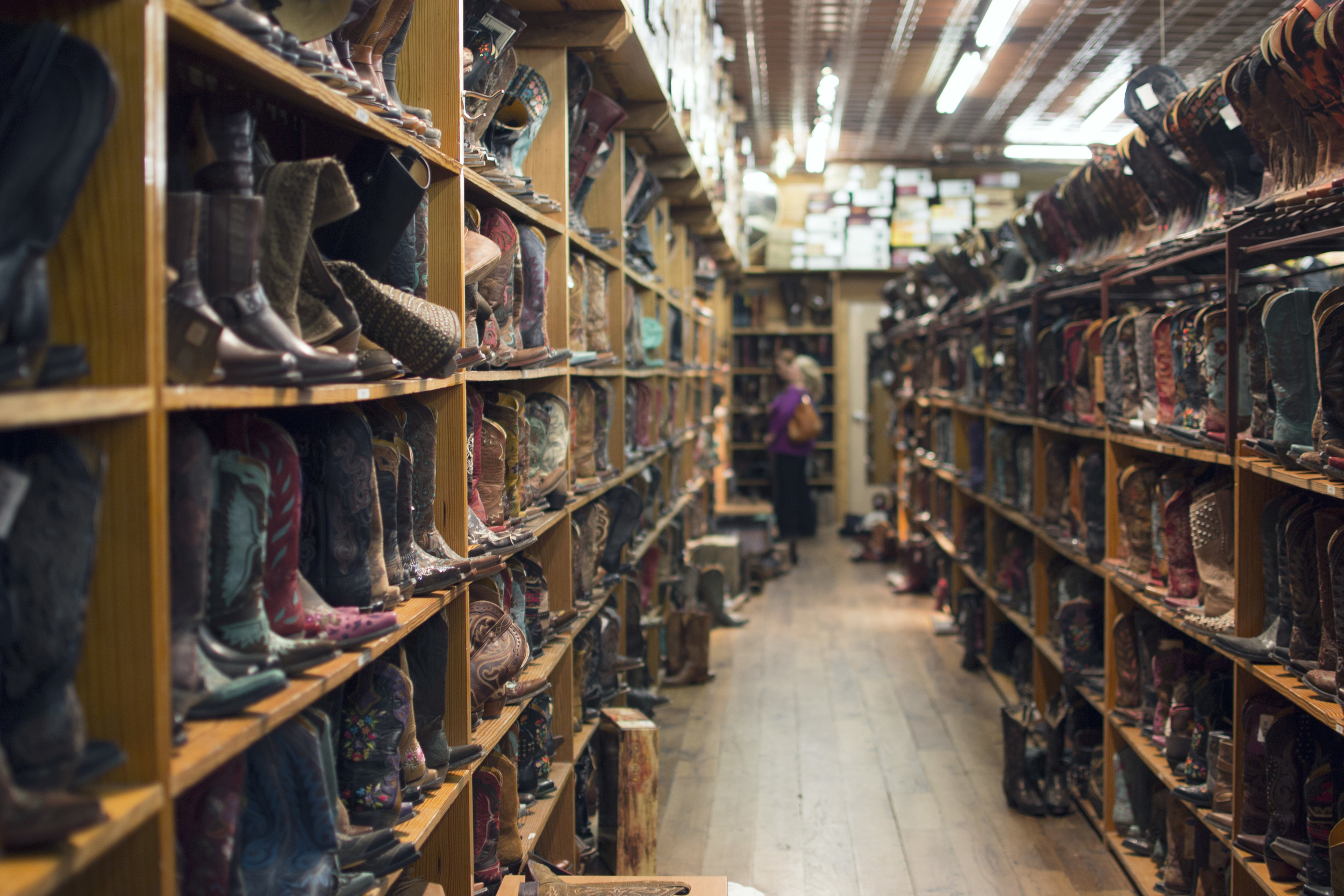 Allens Boots  is a true Texas spectacle.